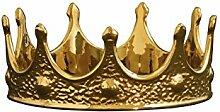 Seletti Vorratsdose 18,5cm Durchmesser Porzellan My Krone Zubehör, gold