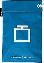 Seletti Vorratsdose My Flüssigkeiten SMARTRAVEL Tasche, Sky Blau, 19,5x 29,5cm