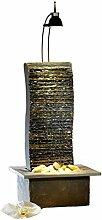 Seliger Schieferbrunnen Suna, Mehrfarbig, 47 x 25