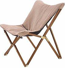 Selsey Avion - Gartenstuhl Klappstuhl aus Holz und
