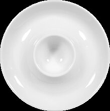 DH 4,5x6,5 cm Eierbecher VARIO Porzellan schwarz VAN WELL 1344110