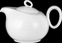 Seltmann Weiden Trio Teekanne 6 Personen weiß