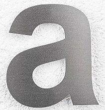 SEM Hausnummer a Edelstahl fein gebürstet 16cm