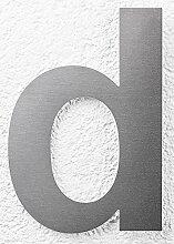 SEM Hausnummer d Edelstahl fein gebürstet 20cm