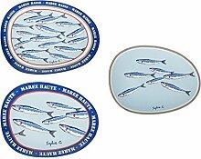Sema 97516–Set 3-Gänge, Maritime Dekoration