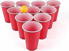 SeMa Home & Play Beer Pong Set 24 Becher und Bälle