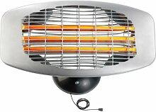 Semptec Urban Survival Technology Wärmestrahler: Quarz-Außen-Heizstrahler QW-1500 zur Wandmontage, 3 Heizstufen, IPX4 (Elektrische Heizstrahler)