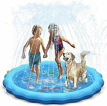 Semriver Splash Pad, Sprinkler Play Matte, 172cm