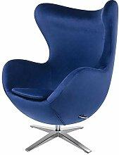 semUp | Ei Sessel Egg Chair Velour Reproduktion