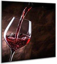 semUp - Spritzschutz aus gehärtetem Glas 60 x 65
