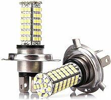 Sencart 1Paar SENCART 7W Auto Bremse Lampe H4P43T SMD 3528102-leds–240lm 6000–6500K