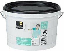 Sencys weiße Wandfarbe für Küche- und