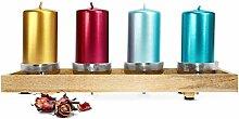 Sendez Kerzenständer Kerzenhalter Kerzentablett