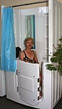Senioren Dusche Sitzbadewanne Sitzwanne