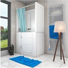 Senioren Dusche Sitzwanne Duschbadewanne mit Tür