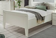 Seniorenbett 100x200cm weiss dekor - Komfortbett