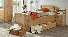 Seniorenbett Ageo Komfortbett 90x200 cm Erle natur