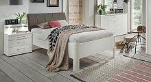 Seniorenbett Castelli, 90x200 cm, weiß