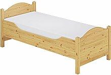 Seniorenbett hoch 90x200 Federholzrahmen verstellbar Federkernmatratze Bett 60.40-09 MT FV