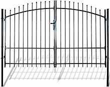 SENLUOWX Holz-Zaun zum Schutz für Outdoor, Garten