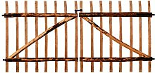 SENLUOWX Holzzaun-Schutz, für den Innen- und