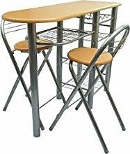 SENLUOWX Küche/Bar-Frühstück/Set Tisch und
