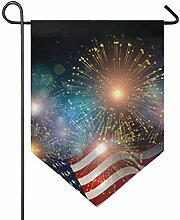 SENNSEE Hausflagge Amerikanische Flagge