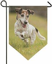 SENNSEE Hausflagge Hund Tier Garten Flagge 30,5 x