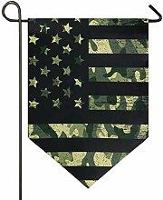 SENNSEE Hausflagge Retro Amerikanische Flagge