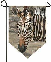 SENNSEE Hausflagge Zebra, Wildtiere, Afrika, 30,5