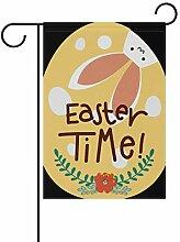 SENNSEE Ostern-Flagge für Ei, Hase, Haus, Garten,
