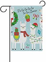 SENNSEE Weihnachtsflagge mit süßem