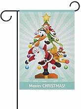 SENNSEE Weihnachtsmannflagge mit
