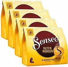 Senseo Kaffeepads Guten Morgen XL, Stark & Intensiv, 4er Pack, á 125 g