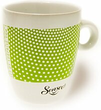 Senseo Limited Edition Tasse, Let us surprise you, Porzellan, Becher, Kaffeetasse, Creme Grün 180 ml
