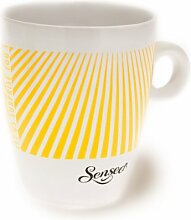 Senseo Limited Edition Tasse, Let us surprise you, Porzellan, Becher, Kaffeetasse, Creme Gelb 180 ml