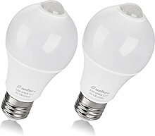 Sensor Glühbirne E27 LED mit PIR Bewegungsmelder