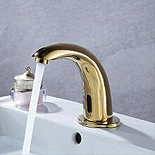 Sensor Wasserhahn Senducs Gold Bad Sensor