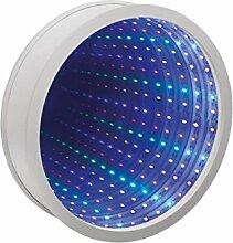 Sensorische Unendlichkeit Spiegel Tunnel Licht