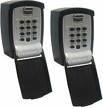 Sentinel Schlüsselsafe, Schlüsseltresor im Doppelpack