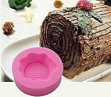 september-europe Baum Zhuang (Design Kuchen Silikonform Schokolade Polymer Clay Craft Formen handgefertigt Craft-Sugarcraft Mould Backen Schokolade Backen Werkzeuge MK-1325