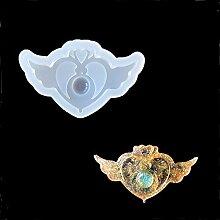 september-europe ewelry aufreihmaterialien Formen, DIY handgefertigt Silikonform, transparent FORM für Harz, Kristall, Sailor Moon, Zecter Geschenk