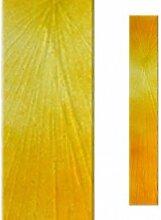 Serafinum Relief Glasstele in Gelb für Grabdenkmal - Glasstele S-27 / 17x100cm / Gelb