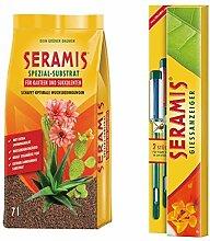 Seramis Ton-Granulat als Pflanzenerden-Ersatz für