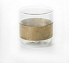 Serax Trinkglas Wasserglas Weinglas, Glas/Kupfer,