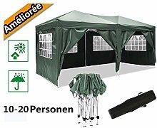 Serface Pavillon Faltpavillon 3x6 Wasserdicht