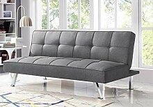 Serta Cabrio Futon-Sofa, Leinenstoff-Polsterung