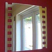 ServeWell Wandspiegel mit Filmstreifen, Plastik,
