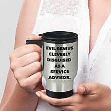 Service Advisor-Tasse, Reisetasse, Geschenk für