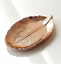 Serviertablett Keramik-Lagerschalen Dekorative